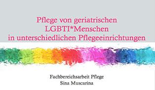 Bachelor-Arbeit: Pflege von geriatrischen LGBTI-Menschen