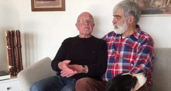 Bruno, 74 und Paul, 71: Sich nicht erklären müssen