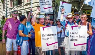 queerAltern im  Zurich Pride Magazin 2019