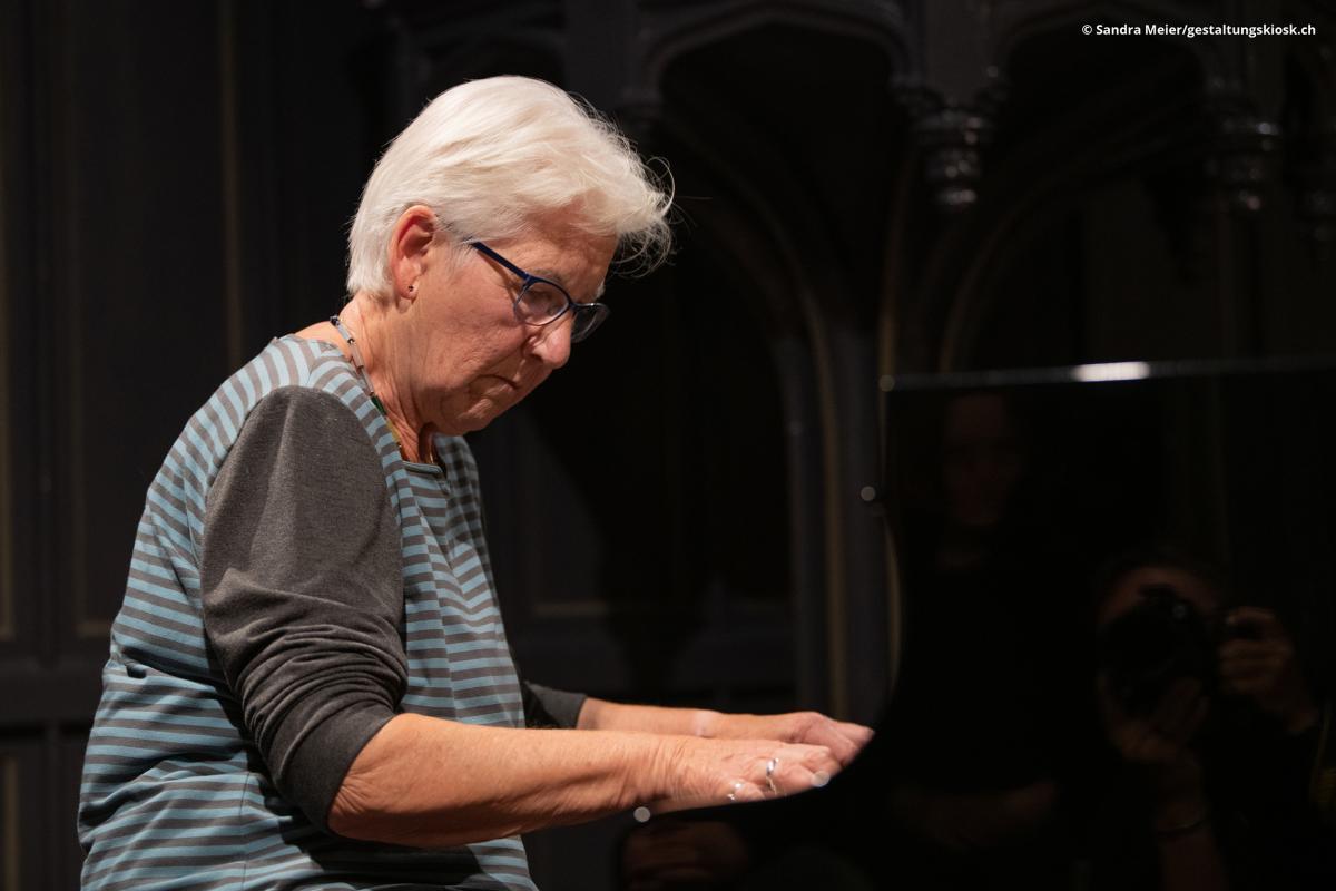 Solokonzert von Irène Schweizer