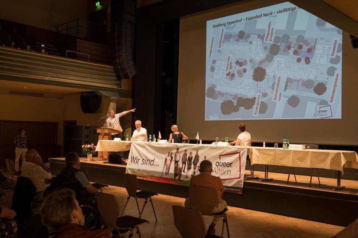 Info-Veranstaltung und Feier Projekt Espenhof