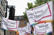 queerAltern an der Zurich-Pride-Demo 2021