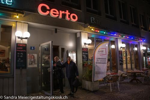queerAltern.ch Weihnachtsessen-Restaurant-Certo 07-12-2019 Weihnachtsessen ©S.Meier gestaltungskiosk.ch 1