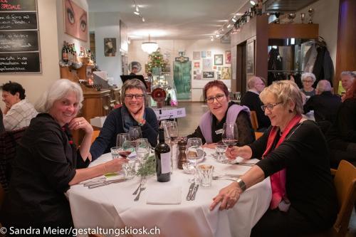 queerAltern.ch Weihnachtsessen-Restaurant-Certo 07-12-2019 Weihnachtsessen ©S.Meier gestaltungskiosk.ch 39