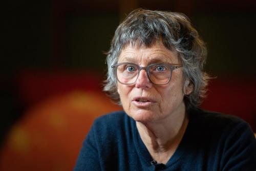 qA-Online Frauenstimmrecht Podium BarbaraBosshard ©S.Meier gestaltungskiosk.ch-8