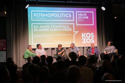 queerAltern.ch Milchjugend 50-Jahre-Stonewall 25-Jahre-Zurich-Pride Podiumsdiskussion-im-Kosmos 25-05-2019 ©S.Meier gestaltungskiosk.ch 3